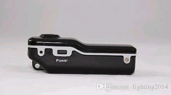 Mini DVR HD Mini videocamera Sport DV Videoregistratore Fotocamera auto DVR Videocamera con barcket + clip MD80