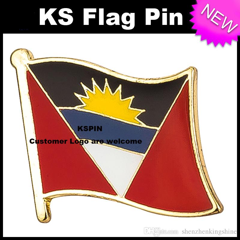 Distintivo della bandiera del distintivo della bandiera dell'Argentina molto trasporto libero KS-0005