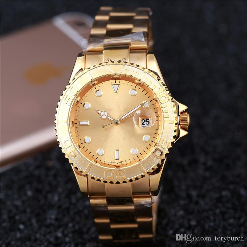 Brandneue Beliebte Herrenuhr mit Datum Quarz Armbanduhr Luxus Relogio Mode Männer Frauen der Uhr Gutes Geschenk für Männer Junge, Dropship