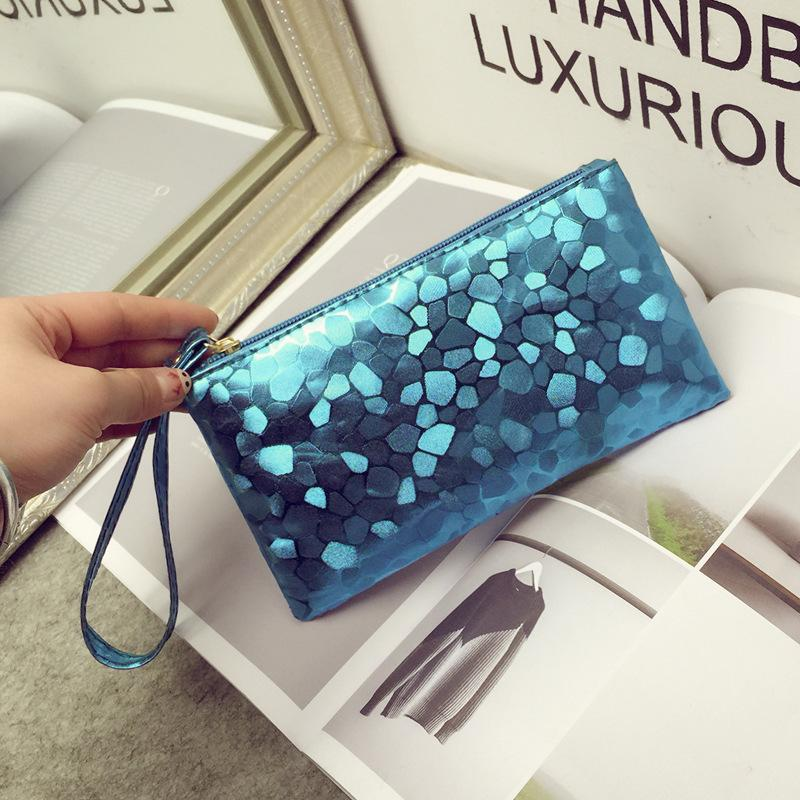 cheap colorful clutch bags women handbags wallets purse small bags phone coi card holder travel cosmetic bags