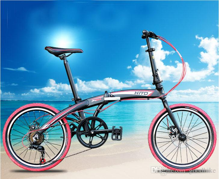 Hito Bike 20 Inch Folding Bicycle Aluminum Alloy Frame Double Disc