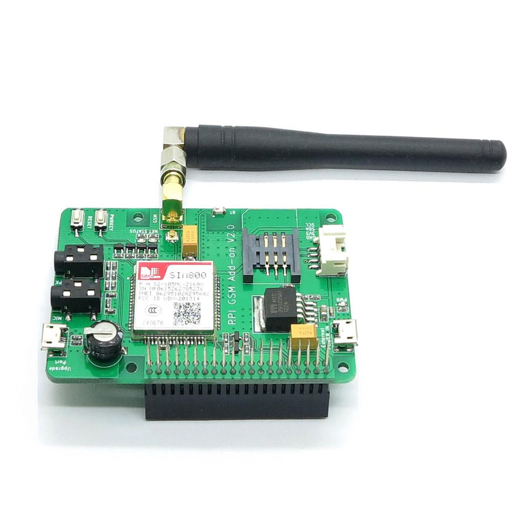 Freeshipping Itead Raspberry Pi 3 SIM800 GSM/GPRS Module Add-on V2 0 also  for Raspberry pi 2