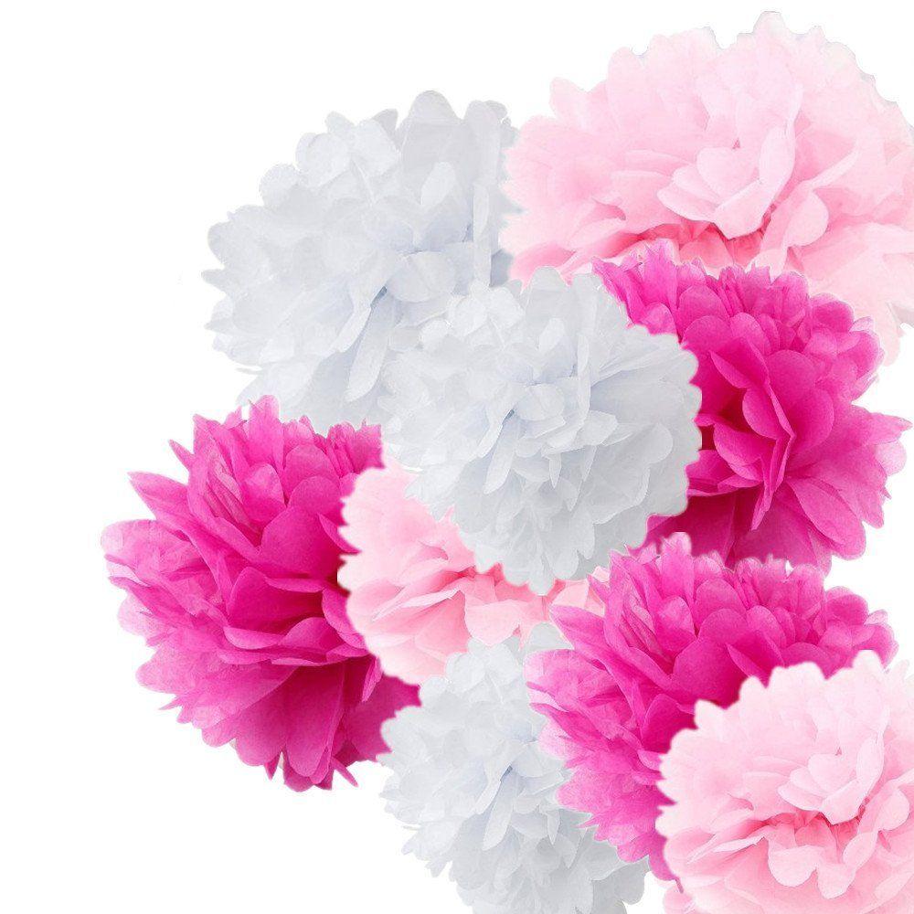 Online Cheap 1435cm Tissue Paper Pom Poms Crafts Flower Ball For