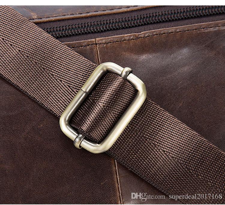 Vintage Genuine Leather Multi functional Drop Leg Motorcycle Cycling Fanny Pack Waist Belt Bag Zipper Pouch Belt Clip Waist purse bag