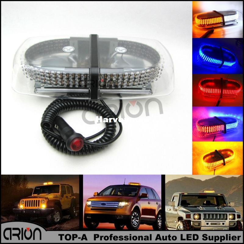 240 led car rood emergency hazard warning mini light bar magnetic 240 led car rood emergency hazard warning mini light bar magnetic strobe flash police lights lamp red blue amber white green domestic emergency lighting aloadofball Gallery