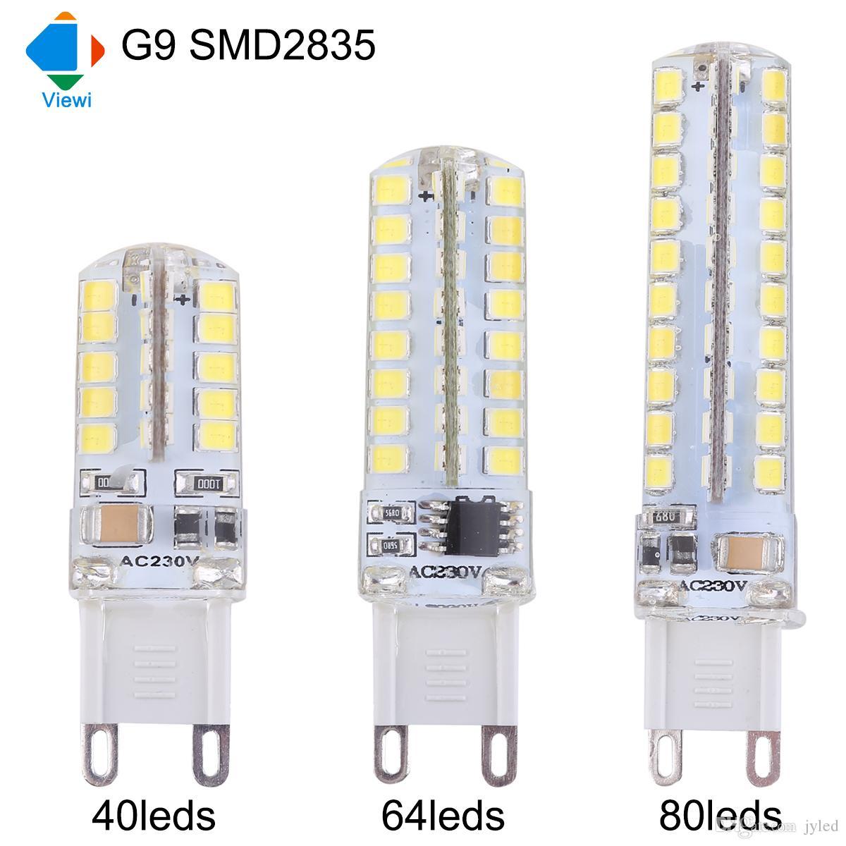 Led Bulbs G9 110v 220v Best Lumens Smd 2835 Epistar Chip 40leds ...