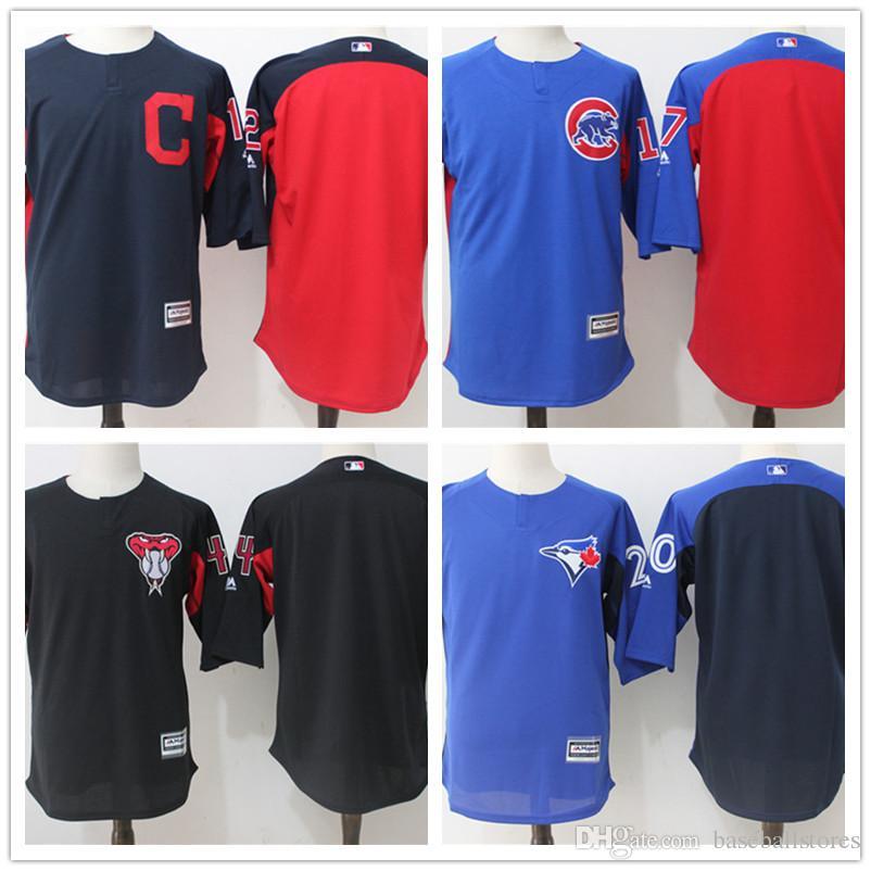 951c88c11 2018 2017 mens toronto blue jays batting practice new american baseball  jerseys custom altuve 27 ver