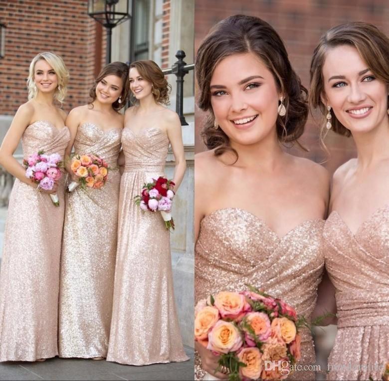 Chief Bridesmaid Pink Dresses