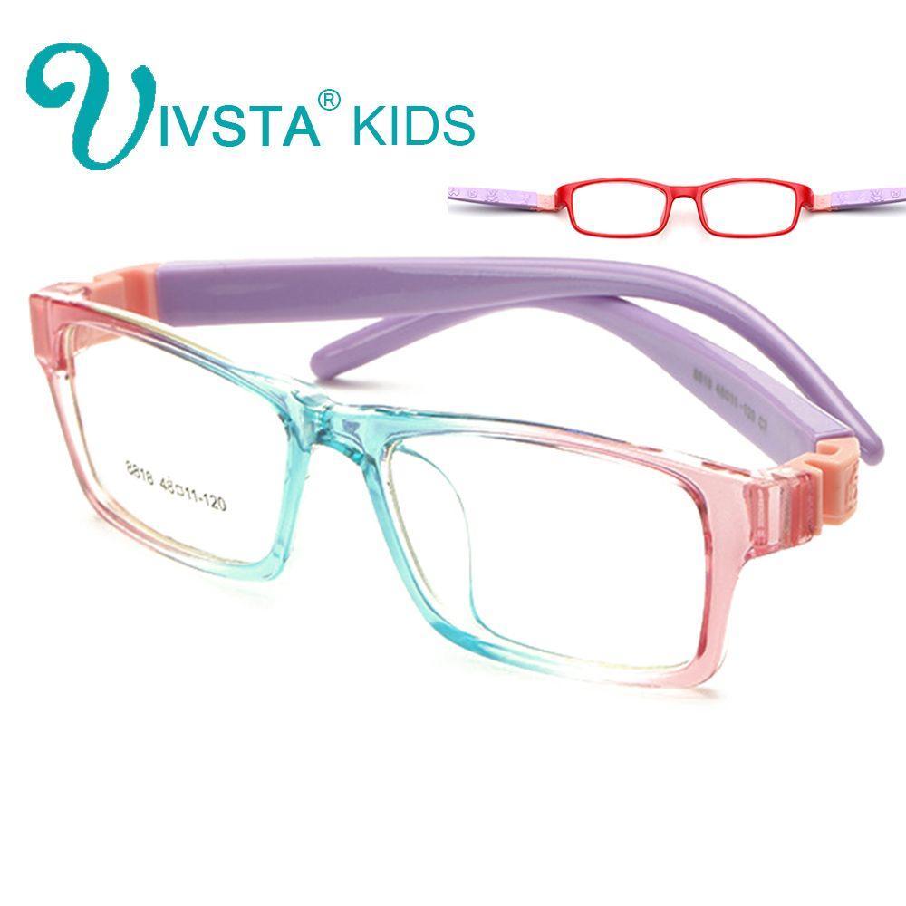 06e9e7e221 Compre IVSTA 8818 Gafas Ópticas Irrompibles Marco Niños Gafas Niños ...