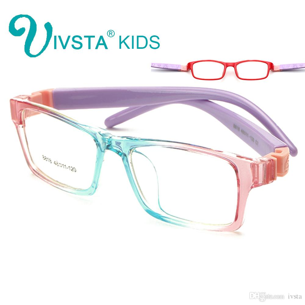 IVSTA 8818 Unbreakable Optical Glasses Frame Kids Eyewear Boys ...