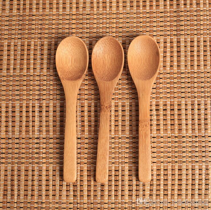 Jam bois cuillère de miel bébé cuillère cuillère à café Nouvelle cuisine délicat à l'Condiments Petit 12,8 * 3cm