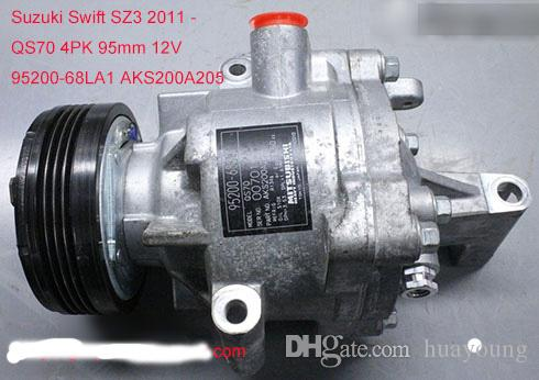 Factory Direct Sale Auto Parts Air Conditioning Compressor Qs70 For