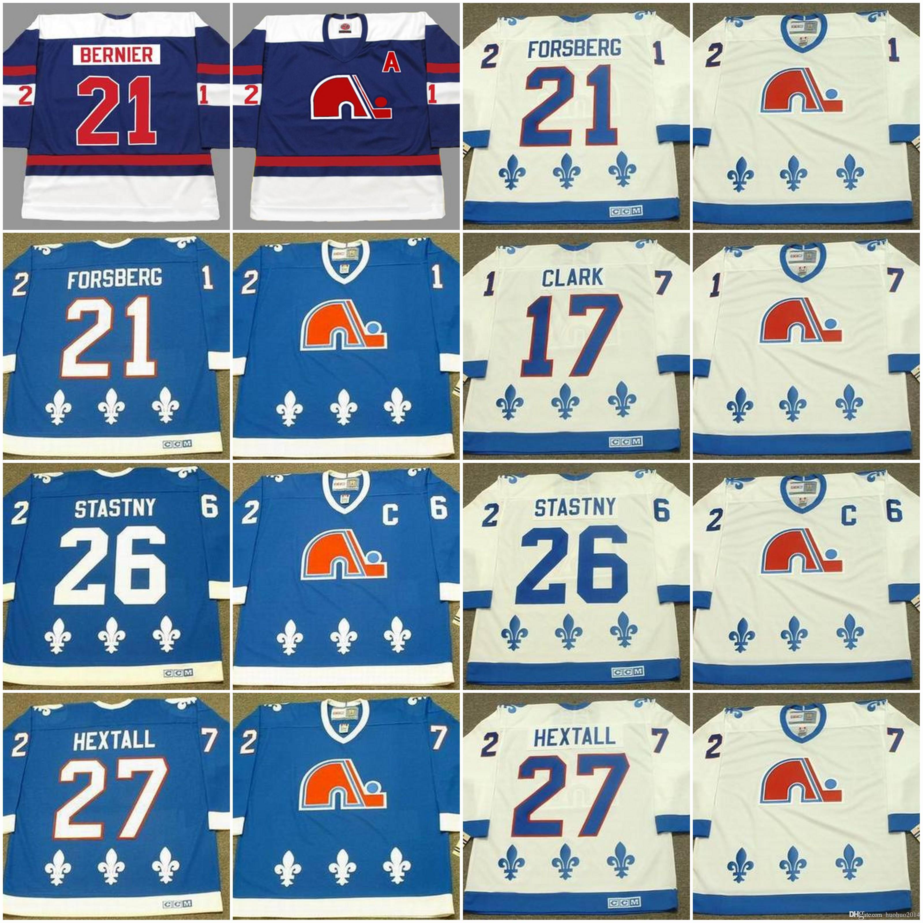 ... purchase 2018 quebec nordiques mens jerseys 17 wendel clark 1994 21  peter forsberg 21 serge bernier f97a3af8a