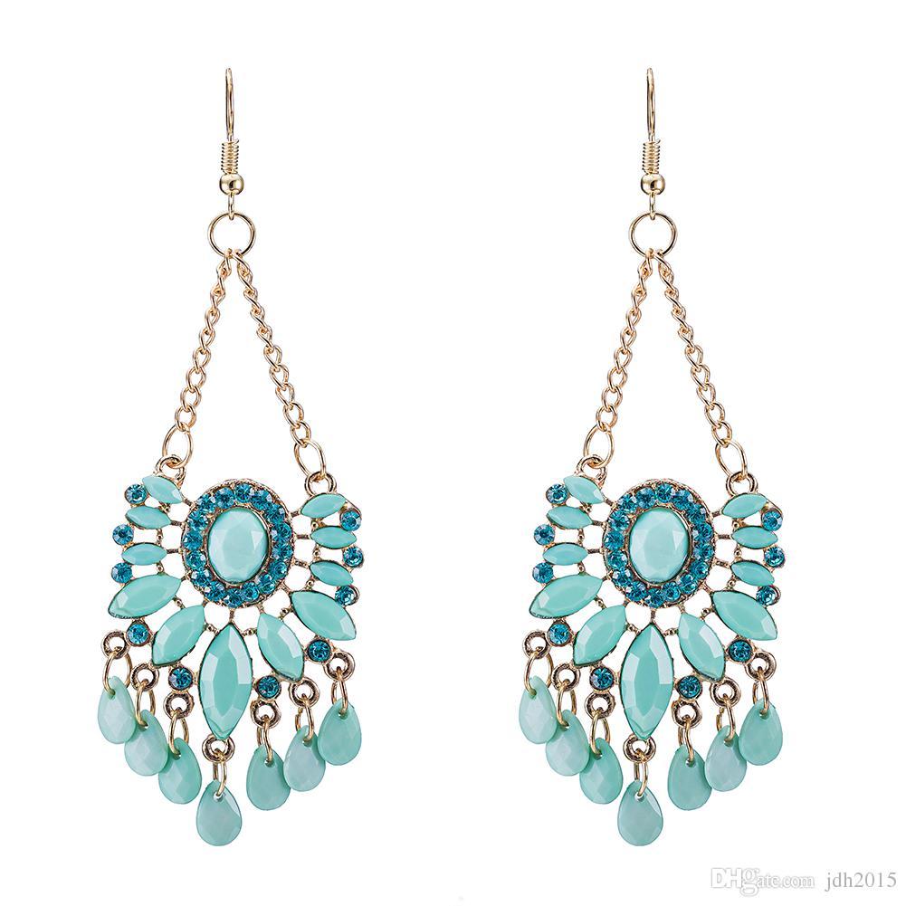 2018 vintage retro style tassels dangle chandelier earringfashion 2018 vintage retro style tassels dangle chandelier earringfashion boho earrings from jdh2015 654 dhgate arubaitofo Choice Image