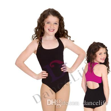 000288d20 Child Ballet Leotard C2048 Two Tone Tank Ballet Leotard Children ...