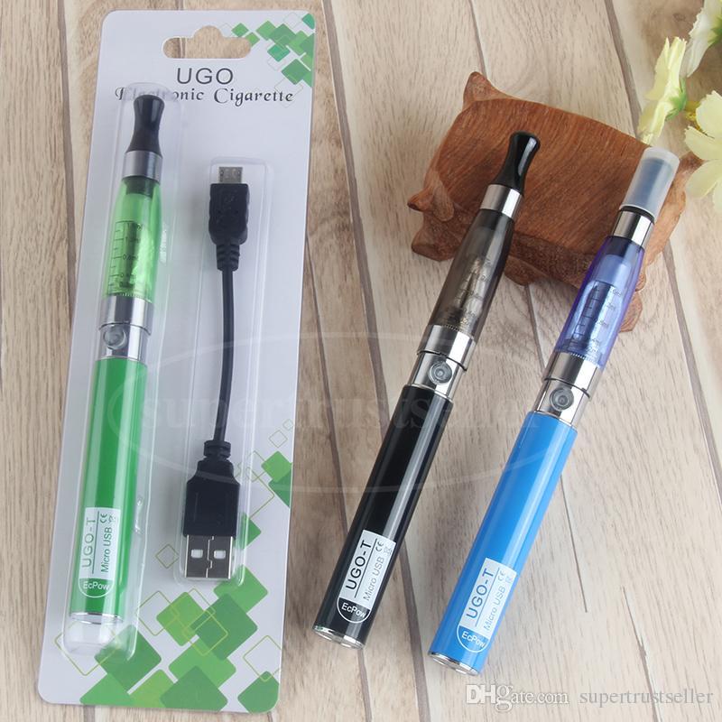 eGo CE4 Blister Kits 650mah UGO T Vaporizer Pen Starter Kit VS Evod eGo CE4 CE5 MT3 Blister Pack Price E Cig