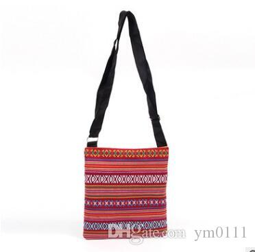2e24c269f4e New Summer Canvas Shoulder Flap Bags Women Small Beach Bag Ladies ...