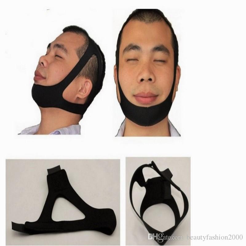 Anti ronquido Cinturón de la barbilla Banda mandibular Salud Asistencia de masaje Sueño Solución de ronquidos Cómoda y efectiva Parada de ronquidos Correa de barbilla