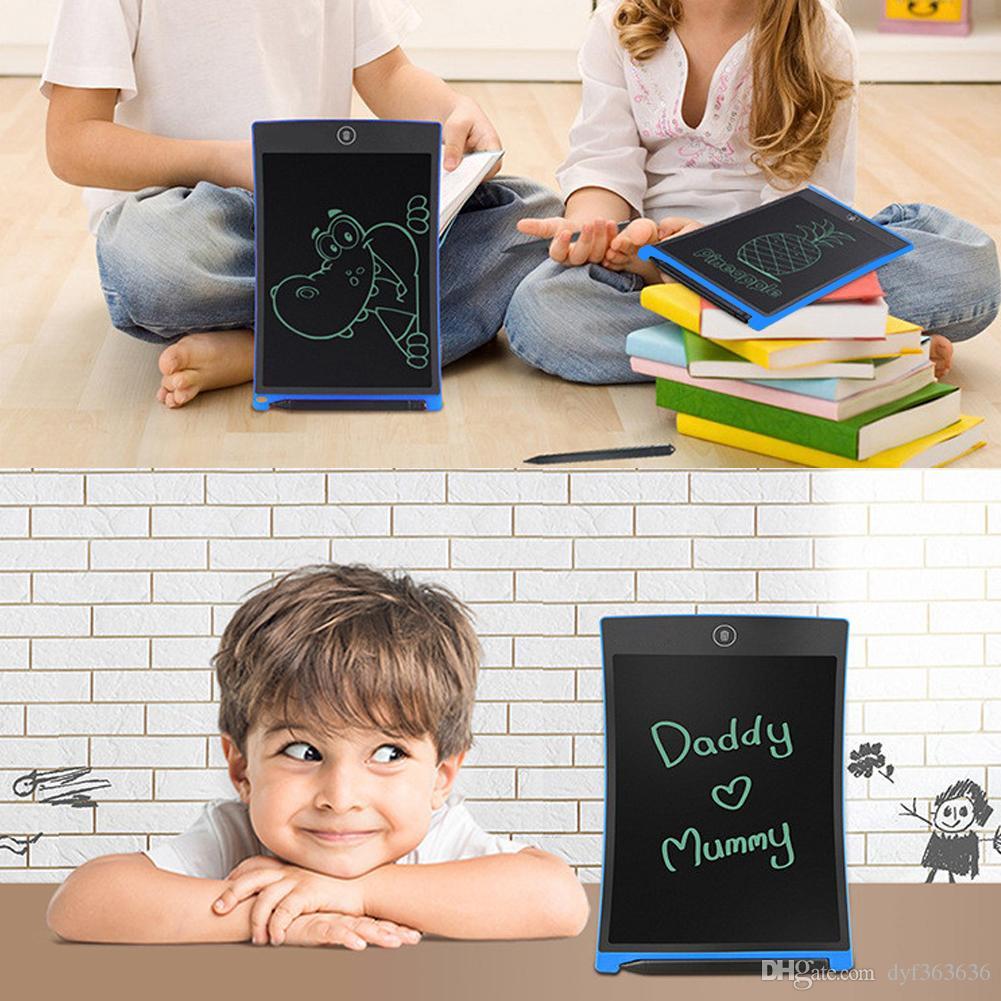 "8.5"" LCD Mini Writing Drawing Tablet Portable Electronic Writing Board Can Be Used As Whiteboard Bulletin Board Memo Board"