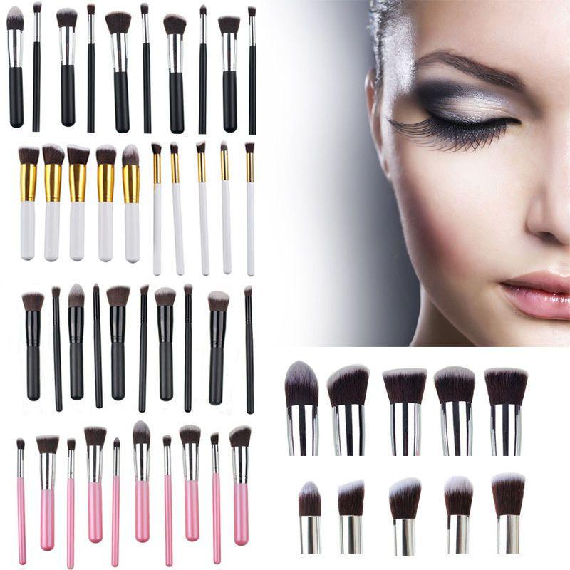 2016 New Kabuki Makeup Brush Tools Makeup Brushes Set With Retail - Kabuki-makeup