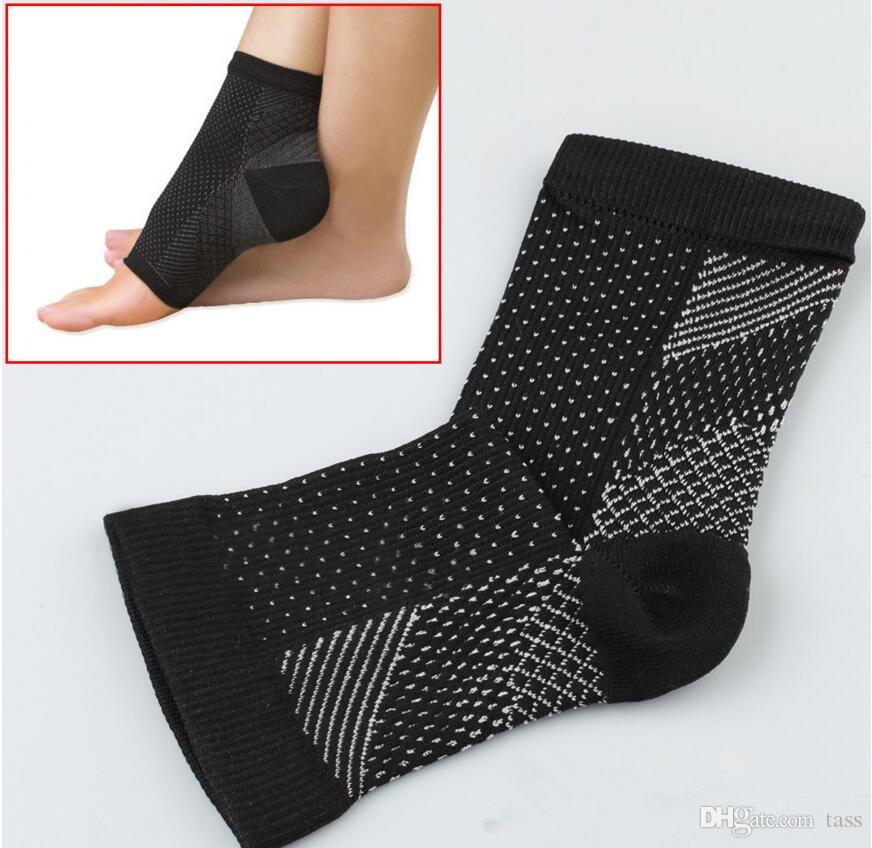 898a9d78ff 2017 Foot Angel Anti Fatigue Foot Compression Sleeve Sports Socks  Circulation Ankle Swelling Relief Outdoor Running Cycle Basketball Socks  Callous File ...