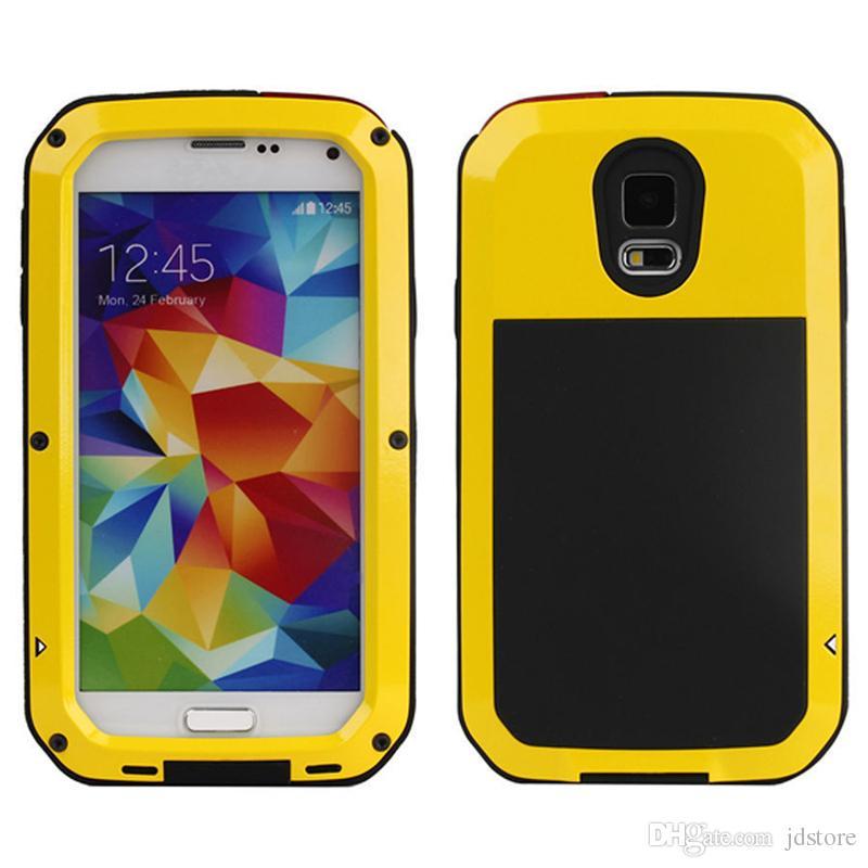 Für Samsung Galaxy S3 S4 S5 S7 Edge Hinweis 4 5 Stoßfest Wasserdichten Power Gorilla Glas Schützen Telefonabdeckung