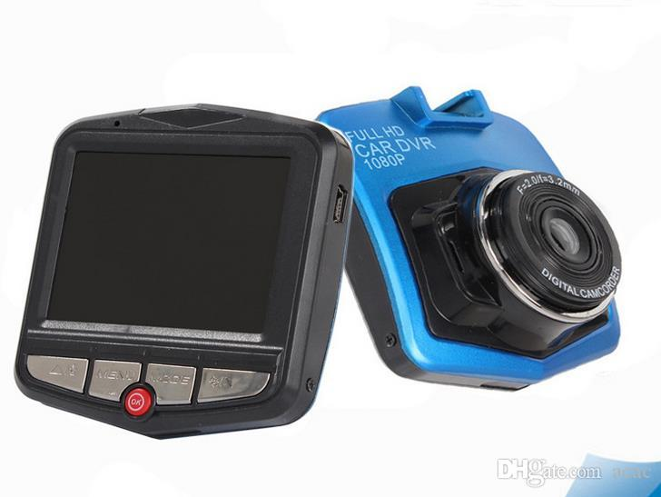 Novo mini auto carro dvr câmera dvrs full hd 1080 p gravador de estacionamento gravador de vídeo camcorder night vision caixa preta traço cam