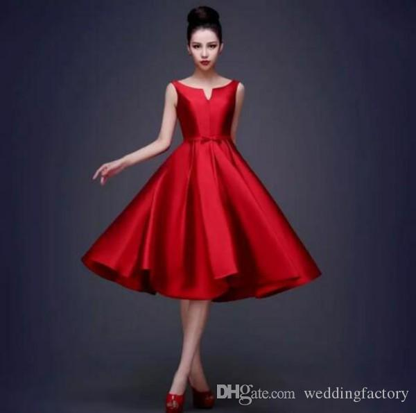 cocktail black and red party dress