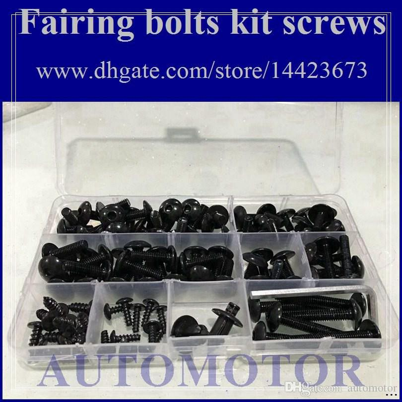 Fairing bolts full screw kit For HONDA CBR600RR F5 05-06 CBR600F5 CBR 600 F5 CBR600 F5 05 06 2005 2006 RR 1A3 Body Nut Nuts bolt screws