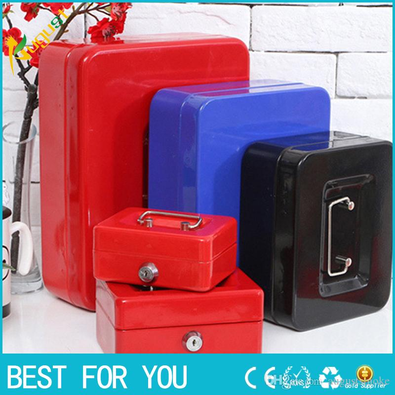 New Arrival Portable Storage Box Stainless Steel Lock Metal Safety