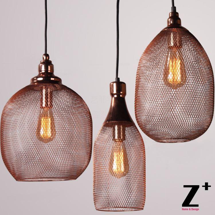 Nice New Light Art Deco Iron Cage Iron Mesh Rose Gold Pendant Light Star Pendant  Light 3 Light Pendant From Zplus, $71.35| Dhgate.Com