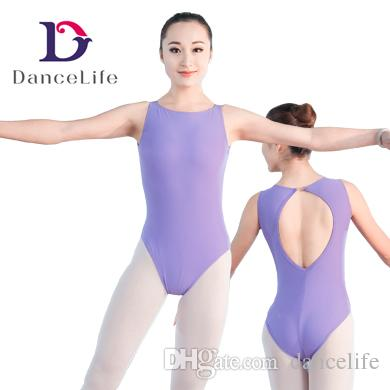 508a0fa7d Keyhole Back Ballet Leotards Women Leotard Wholessale Sexy Dance ...