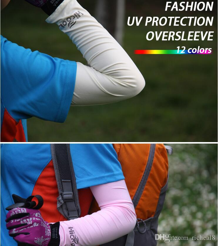 Compre 8 Cores De Arrefecimento Esportivo Atlético Braço Mangas Capa UV  Proteção Solar Basquete Golf Moda Aquecedores De Braço Para Mulheres Mens  NAA004 De ... ab147b730d924