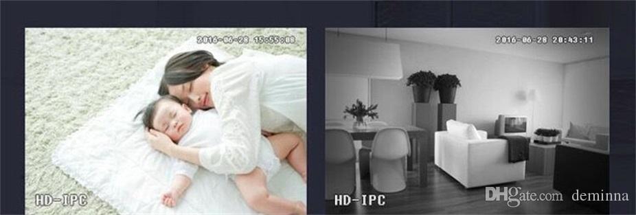 HD 720P WiFi inalámbrico Pan Tilt Network IP Cloud Camera Detección de movimiento nocturna por infrarrojos para cámaras de seguridad de vigilancia CCTV
