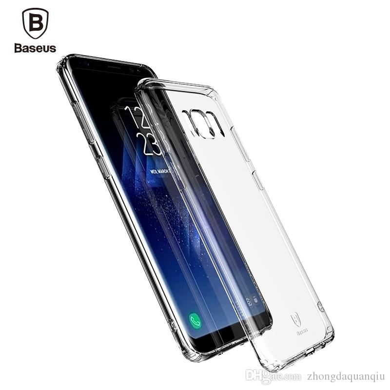 samsung s8 clear cover - funda galaxy s8 color transparente