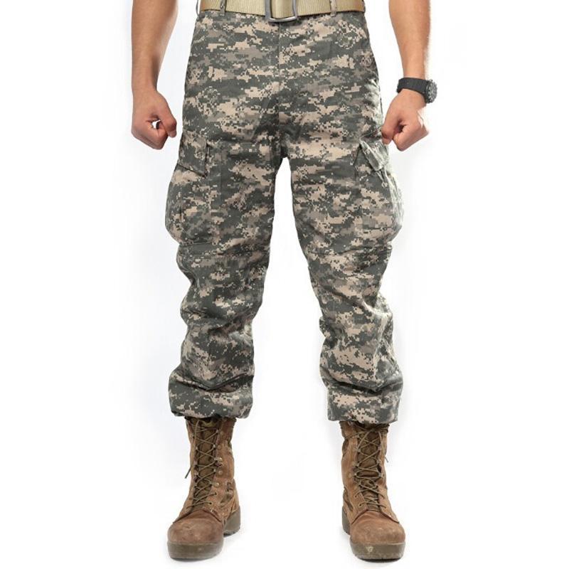 45ee1a2493 Compre Ejército Militar Pantalones De Carga 2016 Hombres De La Marca De Ropa  De Camuflaje Pantalón De Carga Hombre Casual Hombre Pantalon Homme  Pantalones ...