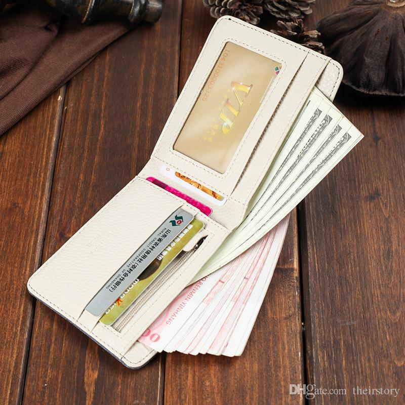 New Retro Man Canvas Wallets Male Purse Fashion Card Holders Small Zipper Wallet New Designed Multi Pockets Purse