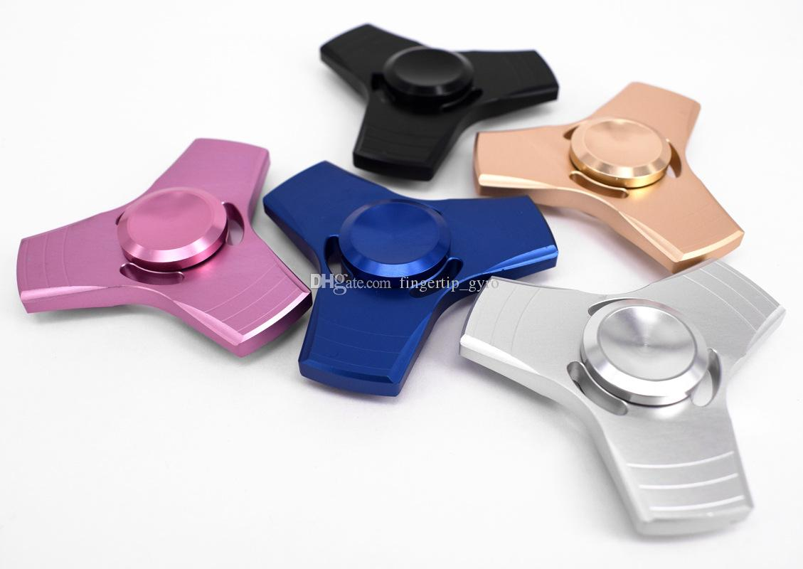 Hot Selling Fidget Spinner HandSpinner Hand Spinner Finger For Decompression Anxiety Metal Ceramic Ball EDC Desk Toy DHL Free
