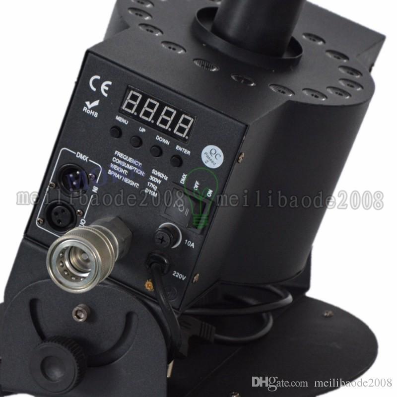 18 * 3W LED 이산화탄소 제트기 DMX 삼색 LED 이산화탄소 제트기 무대 조명 효과 DMX512 CO2 제트 기계 가변 DJ 대포 MYY