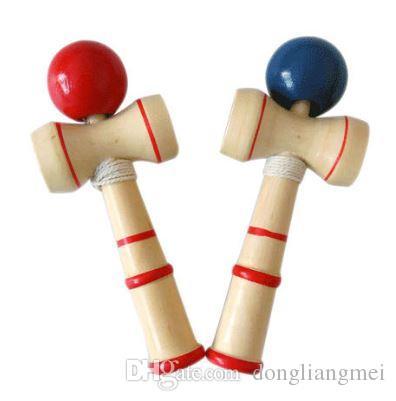 50 Pc Drole Japonais Traditionnel En Bois Jeu En Bois Jouet Kendama Ball L Education Cadeau Nouveau Pour Les Enfants De Sport Cadeau De Mariage 5 5