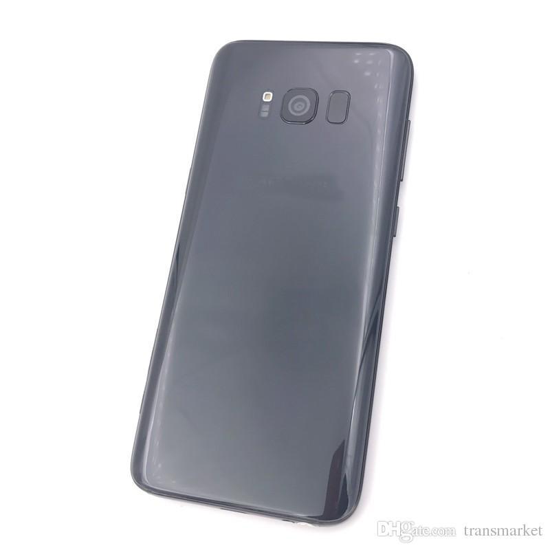 5.8Inch Real fingerprint Goophone S8 Plus smartphone MTK6580 Quad Core 1GBRAM 16GBROM Curve Screen 8MP Back Camera Show 4G128G Good Quality