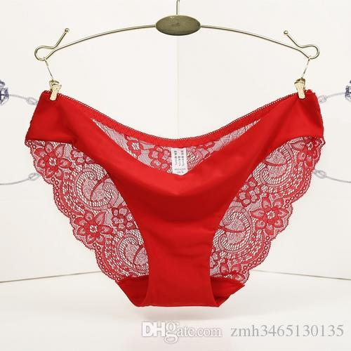 ce2bdf3c43e New Fashion sexy Women s Sexy Lace Panties Seamless Panty Briefs Underwear  muitl-color free shipping