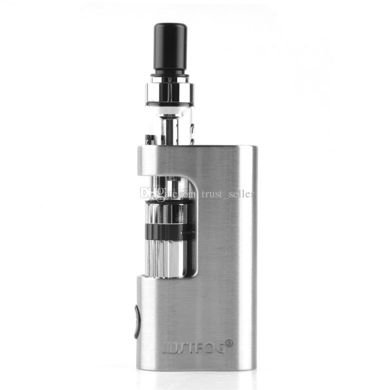 100% Original Justfog Q14 Compact Kits 900mAh Variable Voltage Battery Mod 1.8ml 1.6ohm Q14 Tank Atomizer