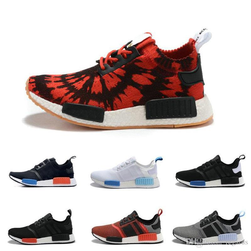 Best 2017 Cheap Best Nmd R1 Primeknit Pk 2016 Running Shoes Top Quality  Sports Shoes Brand Athletic Sneaker Fashion Running Sneakers Men & Women  Under ...