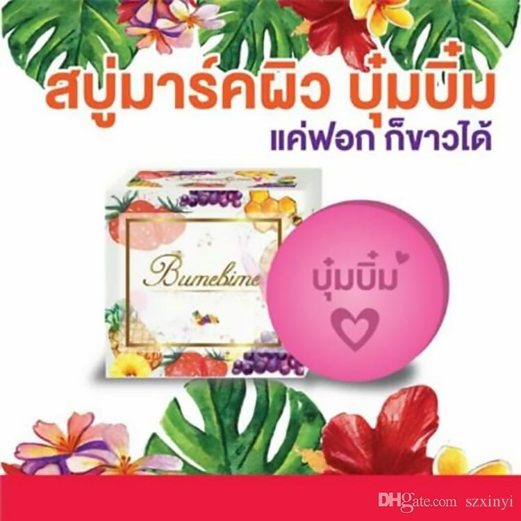 Newest Bumebime mask natual Handmade Soap with Fruit Essential Natural Mask DHL