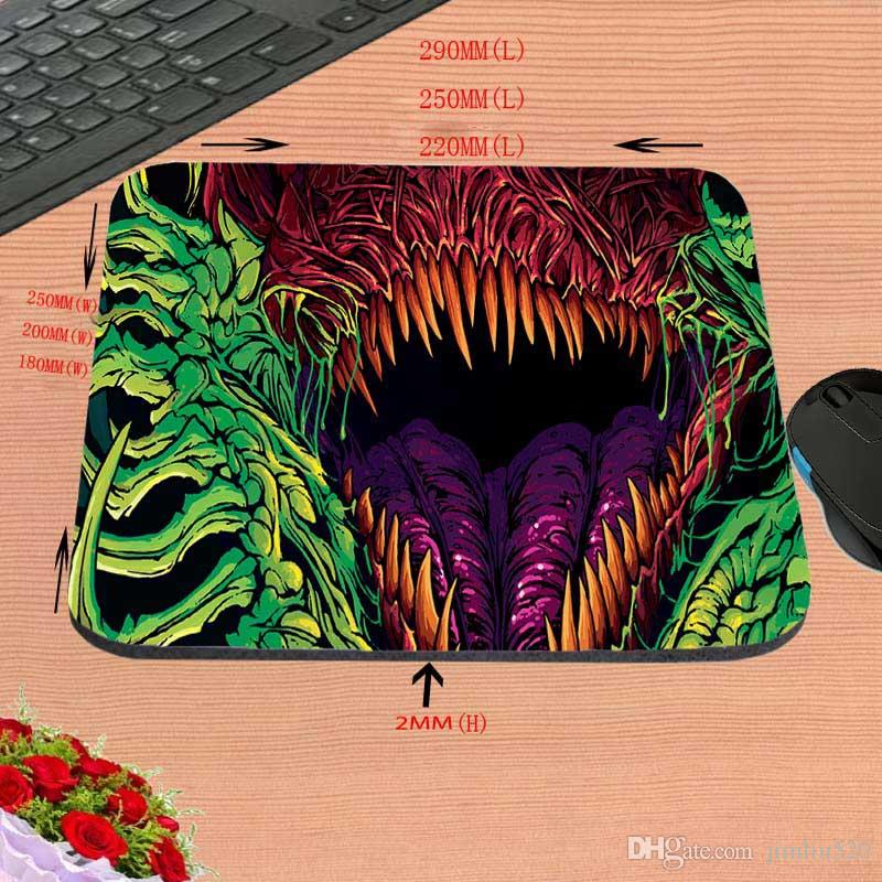 Hot Sell Fashionable 2017 New Arrival Top Selling cs go hyper beast Mouse Pad Computer Gaming Mouse Pad Gamer Play Mats