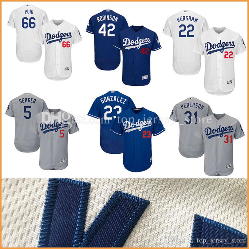 230f19add ... 2017 MenS Los Angeles Dodgers Mlb Jerseys 22 Clayton Kershaw Majestic  White Home Flex Base Authentic .