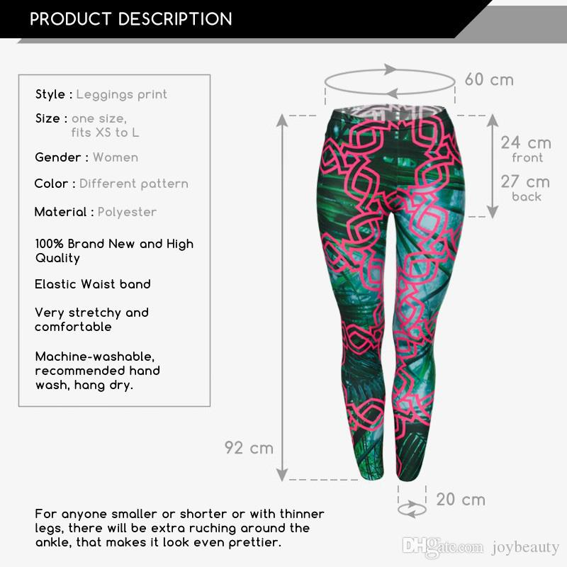 Women Leggings Jungle Chain 3D Graphic Print Girl Green Skinny Stretchy Gym Yoga Wear Pants Fitness Pencil Fit Runner Trousers New J29523