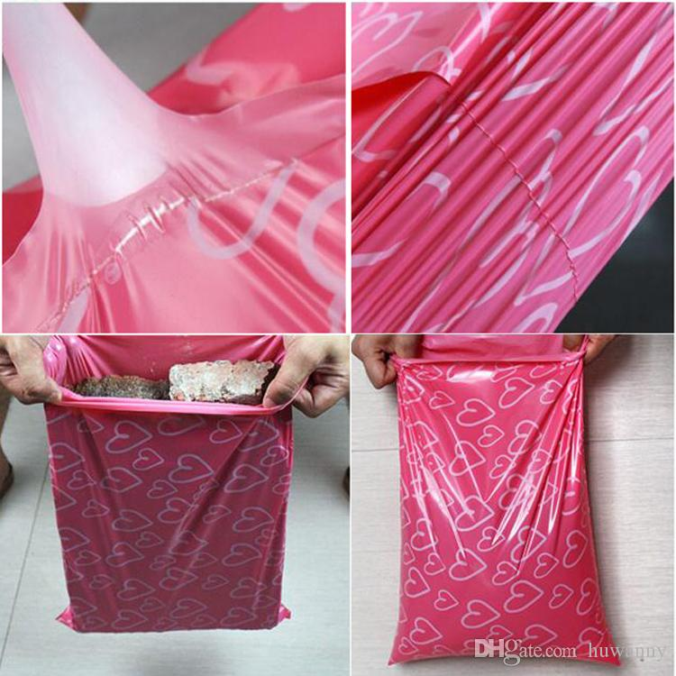 Poly Mailers 28 x 42cm Self-seal Adhesive Express Shipping Bags Courier Mailing Plastic Bag Envelope Courier Post Postal Mailer Bag 0477WH