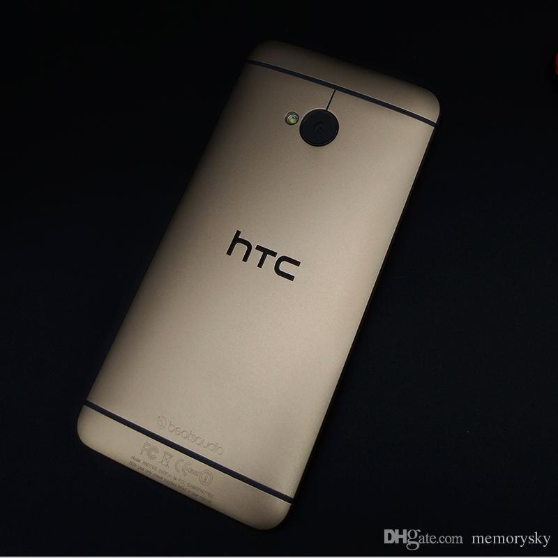حار بيع الهاتف الخليوي مقفلة الأصل تجديد الهاتف المحمول HTC واحدة M7 801e الروبوت الذكي رباعية النواة الهاتف شاشة تعمل باللمس 4.7 بوصة